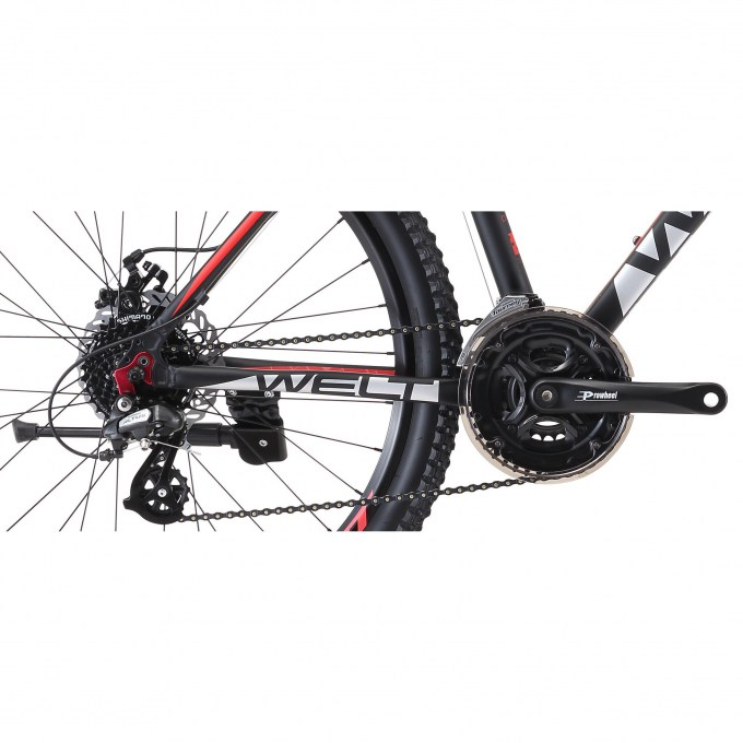 welt ridge 2.0 d 2019 matt black-red 2